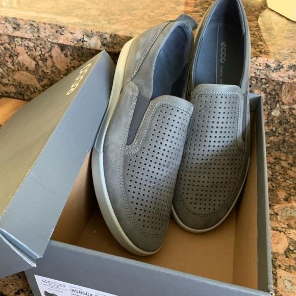 Ecco Men's Cathum size 46 12 12.5 slip on shoes